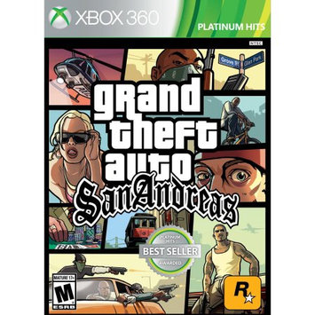 Take-two Interactive Grand Theft Auto: San Andreas PRE-Owned (Xbox 360)