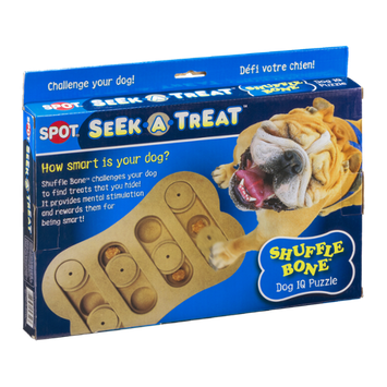 Spot Seek-A-Treat Shuffle Bone Dog IQ Puzzle
