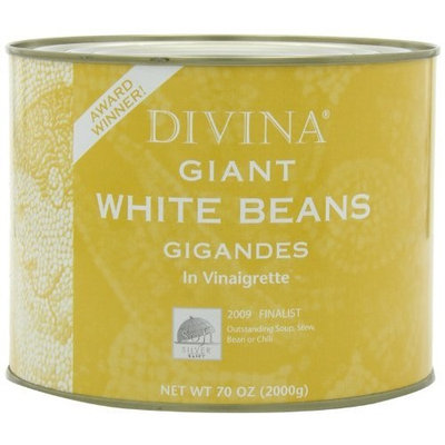 Divina Giant White Beans, 70-Ounces