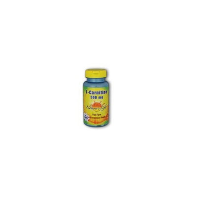 Nature's Life L-Carnitine Capsules, 500 Mg, 60 Count