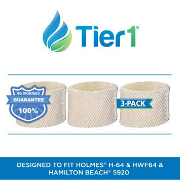Protect Plus HWF64 Holmes Comparable Humidifier Replacement Filter by Tier1 (3-Pack)