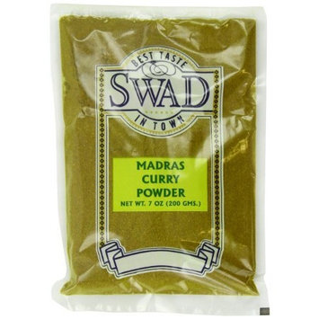 Swad Seasoning Madras Curry Powder, 7-Ounce (Pack of 10)