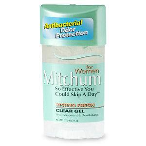 Mitchum for Women Clear Gel Antiperspirant & Deodorant