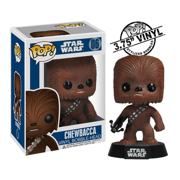 Funko funko POP Star Wars BOBBLE Chewbacca 2324