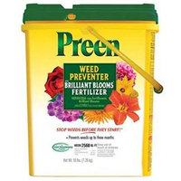 Preen Weed Preventer with Brilliant Bloom Fertilizer - 16 lb. 2163864 (Discontinued by Manufacturer)