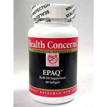 Health Concerns - EPAQ Krill Oil 500 mg 60 gels