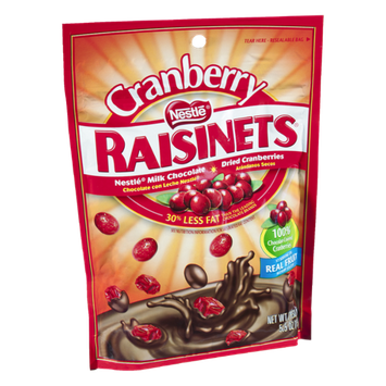 Nestlé Raisinets Dried Cranberries and Milk Chocolate