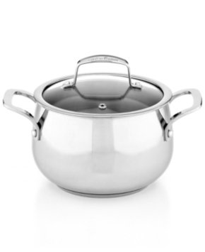 Tools Of The Trade Belgique Stainless Steel 3 Qt. Covered Soup Pot