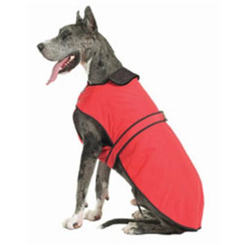Muttluks BL34R 3-Layer Belted Winter Dog Coat - Size 34 Red