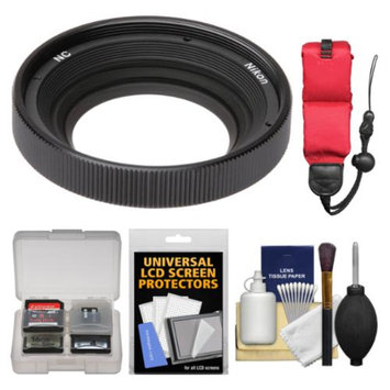 Nikon AW 40.5mm NC Neutral Color Filter with Floating Strap + Accessory Kit for 1 AW1 Camera & 11-27.5mm Lens