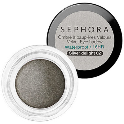 SEPHORA COLLECTION Velvet Eyeshadow N 02 Silver Delight 0.17 oz