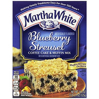 Martha White Blueberry Streusel Flavored Coffee Cake Mix, 18.5 Ounce (Pack of 12)