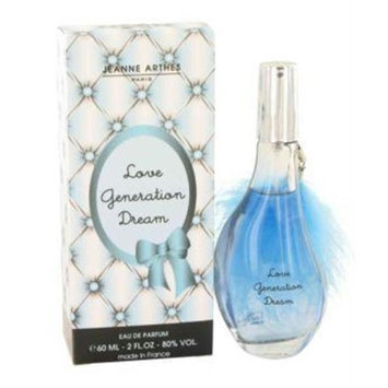 Love Generation Dream by Jeanne Arthes Eau De Parfum Spray 2 oz