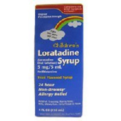 Taro Pharmaceuticals Childrens Loratadine Syrup - 4 Oz