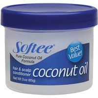 Softee Coconut Oil Hair & Scalp Conditioner, 3 oz