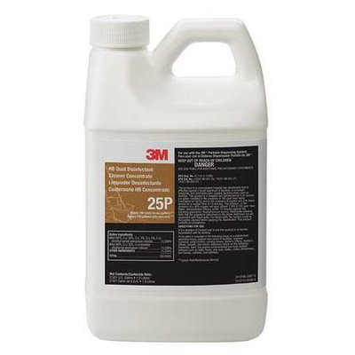 3M 25P Cleaner and Disinfectant, Size 1.9L