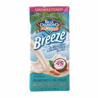 Blue Diamond Breeze Unsweetened Almond Milk & Coconut Milk Blend