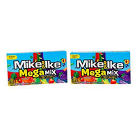 Just Born *New Flavor* Mike and Ike Megamix Theater Box (2 Pack)