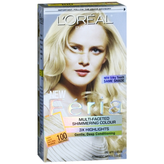 L'Oréal Feria Multi-Faceted Shimmering Colour 3x Highlights