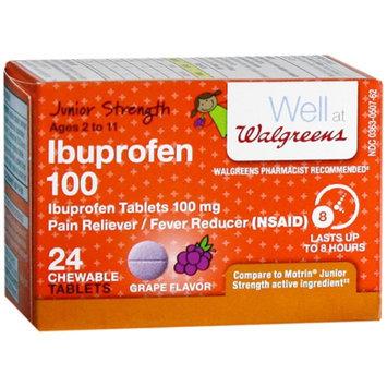 Walgreens Junior Strength Ibuprophen Chewables