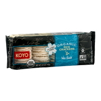 Koyo Organic Rice Crackers No Salt
