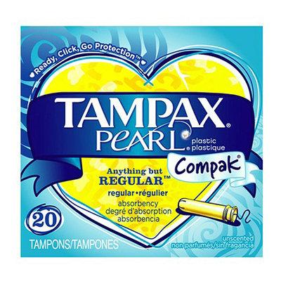 Tampax Pearl Compak plastic