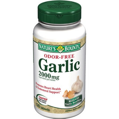 Nature's Bounty Odor-Free Garlic 2000mg