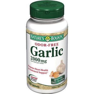 Nature's Bounty Odor-Free Garlic 2000mg
