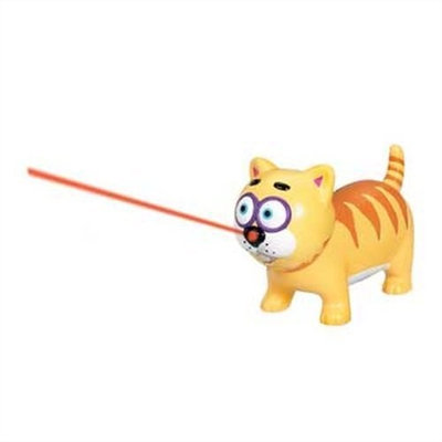 Bamboo Kitty Hoots Vroom Around the Room Kitty Laser Toy