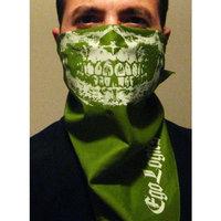 Eco SKULL JAWBONE BANDANA OLIVE FACE MASK PAINTBALL ARMY CAMO GRILL FACE