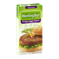 Morning Star Farms Garden Veggie Patties - 4 CT