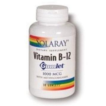 Solaray  Vitamin B12 Gumlet 1000mcg - 30 - Gum