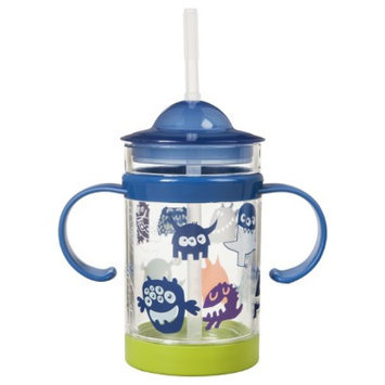 Monsters Puzzle Sippy Cup Set of 3 - Multicolor by Circo