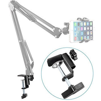 Neewer Heavy-duty Metal Table Mounting Clamp for Mic Suspension Boom Scissor Arm Stand Holder