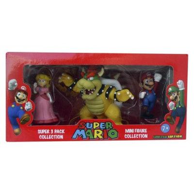 Super Mario Mini Figure Collection - 3 Pack