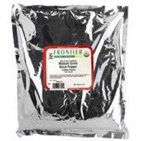Pepper, Black Medium Grind - Certified Organic Fair Trade Certified, 16 oz,(Frontier)