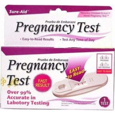 Pregnancy Test, Sureaid Case Pack 72 300679