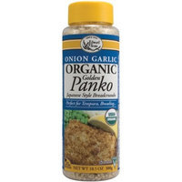 Edward & Sons Panko, Golden Onion Garlic, 10.5-Ounce Cans (Pack of 6)