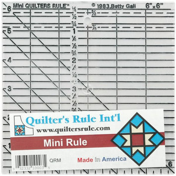 Quilters Rule 6