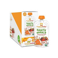Happybaby Happy Baby Organic Baby Food 3 Hearty Meals, Beef Medley, 4 oz (Pack of 16)