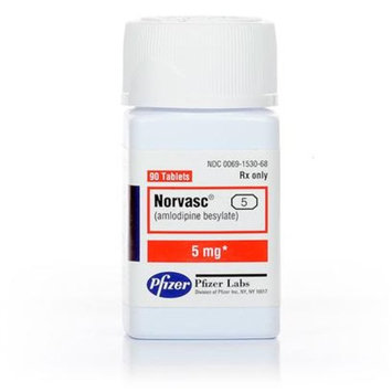 Norvasc [dosage : mgs-5.0; pilltype : Pill]