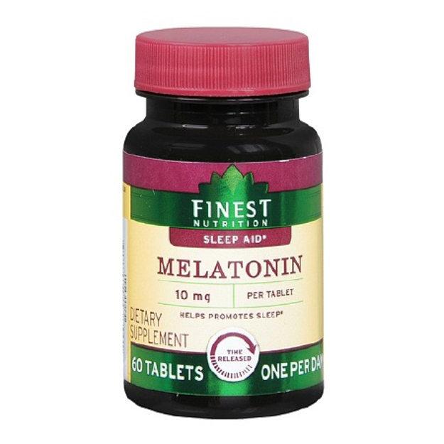 Finest Nutrition Melatonin 10 Mg Time Release Tablets
