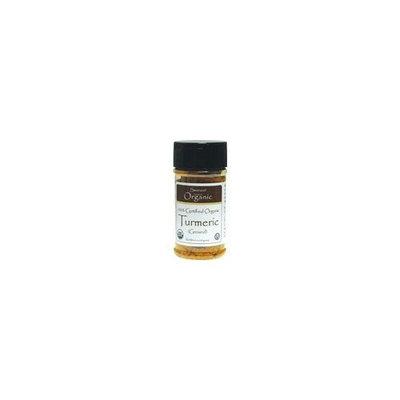 Swanson Organic 100% Certified Organic Turmeric (Ground) 1.8 oz (51 grams) Pwdr