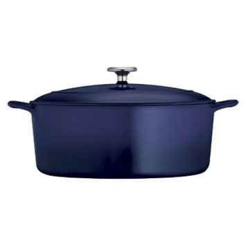 Tramontina 7 Quart Cast Iron Dutch Oven - Blue