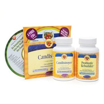 Nature's Secret Candistroy with Probiotic Rebuilder Set