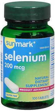 Sunmark Selenium, 200 mcg, 100 tabs by Sunmark