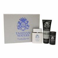 English Laundry Tahitian Waters 3 Piece Gift Set Eau de Parfum, 3.4 fl oz