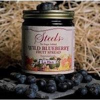 Steel's Gourmet Organic Agave Fruit Spread Wild Blueberry -- 9 oz