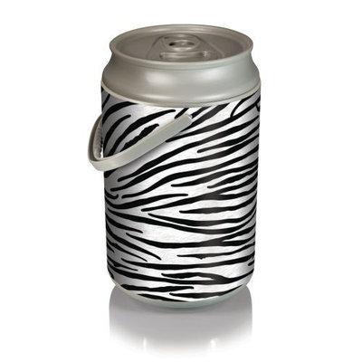 Picnic Time Mega Can Cooler - Zebra Print Can