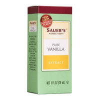 Sauer's Pure Vanilla Extract, 1-Ounce Bottles (Pack of 6)